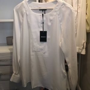 NWT DKNY Blouse Top